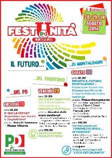 Festa Unità 2014 - dal 28 al 29 agosto 2014 - Matera