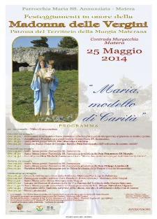Festeggiamenti in onore della Madonna delle Vergini, Patrona del Parco della Murgia Materana  - Matera