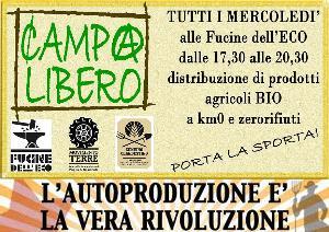 Fierucola delle Autoproduzioni-mercatino CampoLibero  - Matera