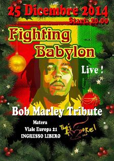 Fighting Babylon - Bob Marley tribute  - Matera