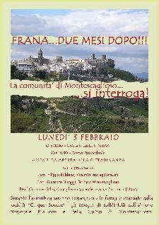 Frana ... Due mesi Dopo - 3 Febbraio 2014 - Matera