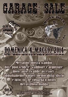 Garage Sale swap meet - 4 maggio 2014 - Matera