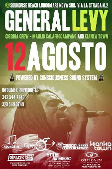 General Levy - 12 agosto 2014 - Matera