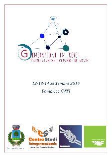 GENERAZIONI IN RETE - dal 12 al 14 settembre 2014 a Pomarico (MT) - Matera