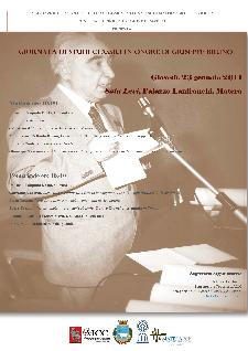 Giornata di Studi Classici in onore di Giuseppe Bruno - 23 gennaio 2014 - Matera