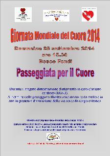 Giornata Mondiale del Cuore 2014 a Tricarico - 28 settembre 2014 - Matera