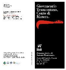 Giovancarlo Tramontano, Conte di Matera  - Matera