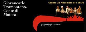 Giovancarlo Tramontano, Conte di Matera - 22 Novembre 2014 - Matera