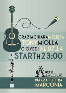 Graziachiara Melissa&Tony Miolla in concerto - 31 Luglio 2014 - Matera
