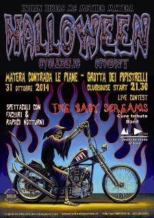 Halloween Cycledelic Night 2014 - 31 ottobre 2014 - Matera