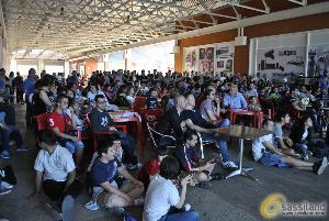 I mondiali 2014 a Caffetteria del Circo (foto SassiLand) - Matera