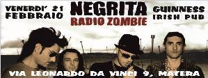 I Radio Zombie Negrita Tribute Band - 21 Febbraio 2014 - Matera