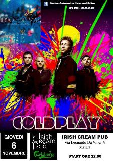 I Recordplay - Tribute band dei Coldplay  - Matera