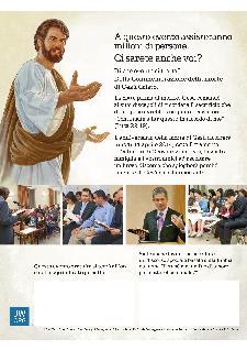 I TESTIMONI DI GEOVA DELLA POVINCIA MATERANA RICORDANO LA MORTE DI GESÙ - 14 aprile 2014 - Matera