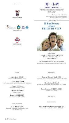 IL BenEssere come STILE di VITA - 14 APrile 2014 - Matera