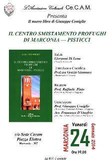 """Il centro smistamento profughi di Marconia-Pisticci"""" di G. Coniglio  - Matera"""