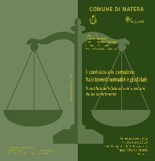 Il contrasto alla corruzione fra interventi normativi e giudiziari: Il contributo della Corte dei conti a vent'anni dal suo decentramento  - Matera