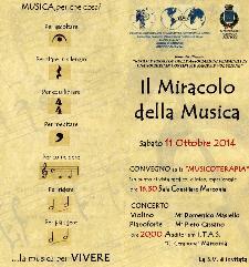 Il miracolo della musica - 11 Ottobre 2014 - Matera