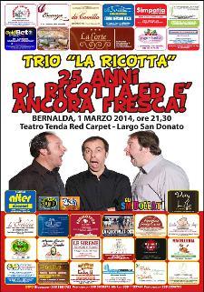 """Il trio comico """"La Ricotta"""" - 1 Marzo 2014 - Matera"""