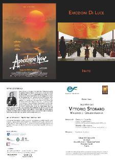 Incontro con Vittorio STORARO  - Matera