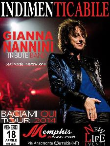 """""""INDIMENTICABILE"""" tribute to GIANNA NANNINI  - Matera"""