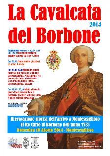La Cavalcata del Borbone 2014  - Matera