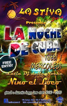 LA NOCHE DE CUBA - Matera