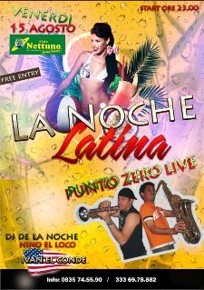 LA NOCHE LATINA - 15 agosto 2014 - Matera
