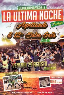 LA NOCHE LATINA - 29 agosto 2014 - Matera