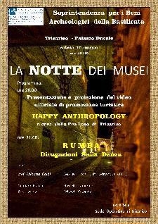 La Notte dei Musei 2014  a TRicarico - Matera