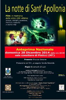La notte di Sant'Apollonia - 28 Dicembre 2014 - Matera