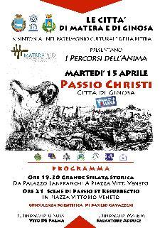 La Passio Christi - 15 Aprile 2014 - Matera