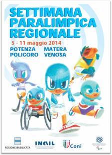 La Settimana Paralimpica Regionale  - Matera