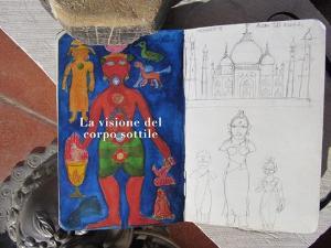 La Visione del corpo sottile - Mostra di Carlo Perretti  - Matera