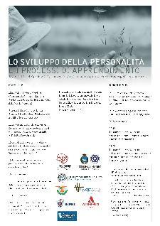LO SVILUPPO DELLA PERSONALITÀ E I PROCESSI DI APPRENDIMENTO - 12 e 13 aprile 2014 - Matera