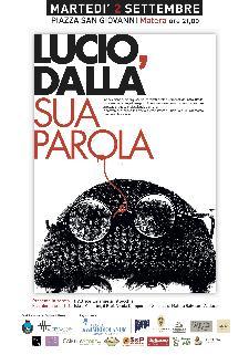 LUCIO, DALLA SUA PAROLA - 2 settembre 2014 - Matera