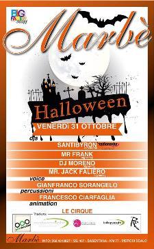 Magico Halloween al Marbè - 31 Ottobre 2014 - Matera