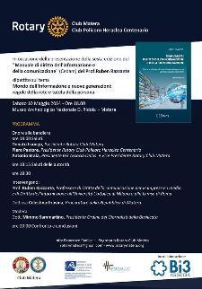 Manuale di diritto dell'informazione e della comunicazione - 10 Maggio 2014 - Matera