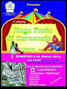 Mega Festa di Carnevale  - Matera
