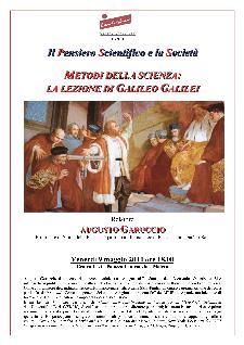 Metodi della Scienza: La lezione di Galileo Galilei - 9 Maggio 2014 - Matera