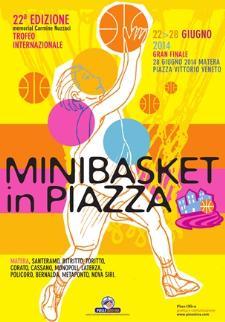 Minibasket in Piazza 2014  - Matera
