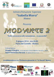 """Mod'Arte 2"""" - Dalle conoscenze alle competenze... in passerella - 9 Giugno 2014 - Matera"""