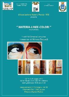 "Mostra d'Arte ""MATERIA-LINEE-COLORI""  - Matera"