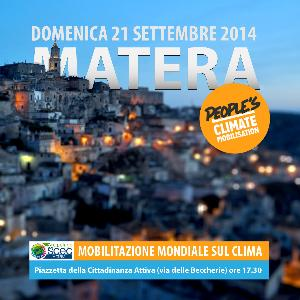 New York chiama Matera per il People's Climate March  - Matera