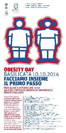 Obesity Day Basilicata - Facciamo Insieme il primo passo  - Matera