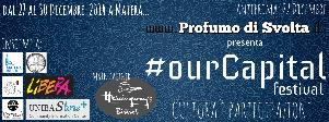 """OurCapital - """"Cultura è partecipazione""""  - Matera"""