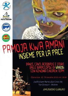 Pamoja Kwa Amani - Insieme per la Pace - Matera