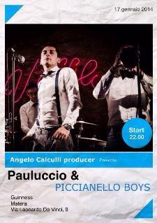 Pauluccio e Piccianello Boys - 17 Gennaio 2014 - Matera