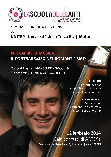 Per capire la Musica, il Contrabbasso nel Romanticismo - 12 Febbraio 2014 - Matera