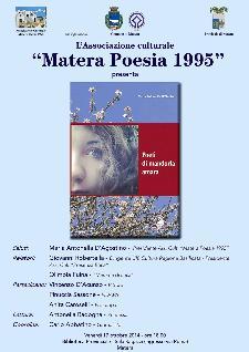 Poeti di mandorla amara  - Matera